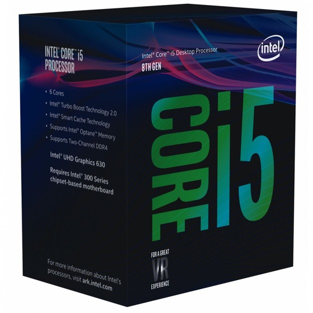 Intel Core i5-8500 6 Core CPU