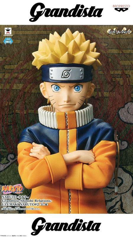 Naruto Grandista - Shinobi Relations - Naruto Uzumaki #2 - PVC Figure