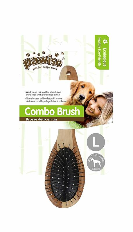 Pawise: Grooming Combo Brush - Large