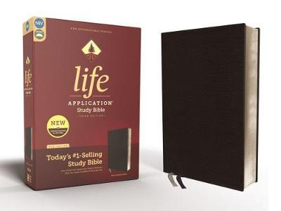 NIV, Life Application Study Bible, Third Edition, Bonded Leather, Black, Red Letter by Zondervan