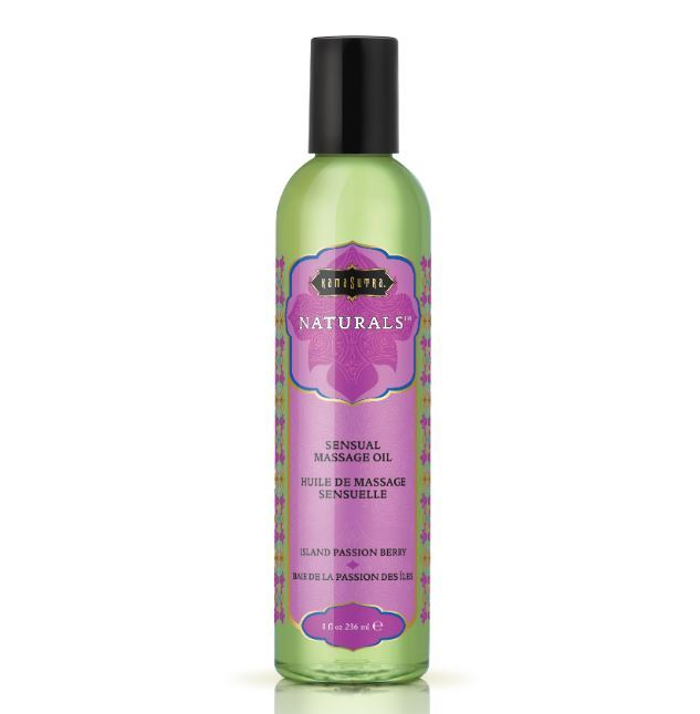 Kama Sutra Naturals Massage Oil Island Passion Berry (200ml) image