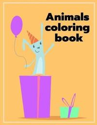 Animals Coloring Book by Harry Blackice