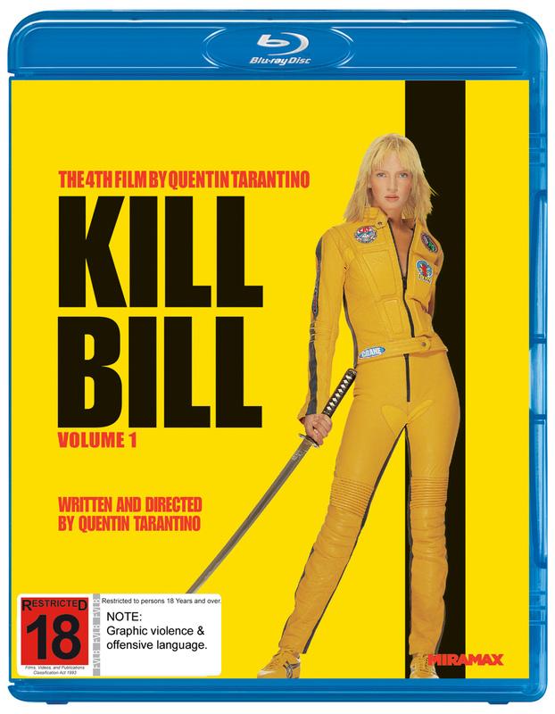 Kill Bill: Volume 1 on Blu-ray
