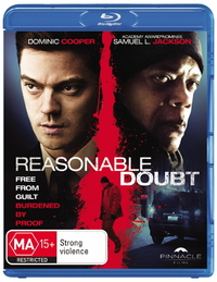 Reasonable Doubt on Blu-ray