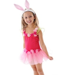 Fairy Girls - Forget Me Not Tutu Dress in Hot Pink (Small, age 1-4)