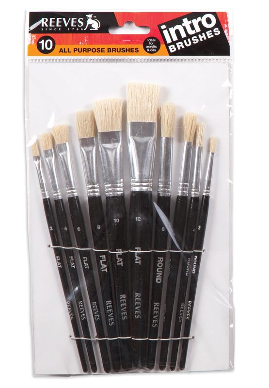 Reeves Intro Brushes Set of 10