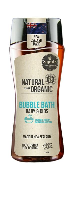 Sigrid's Baby & Kids Bubble Bath