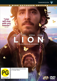 Lion on DVD image
