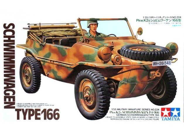 Tamiya 1/35 Schwimmwagen Type 166 - Model Kit