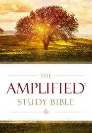 The Amplified Study Bible, Hardcover by Zondervan