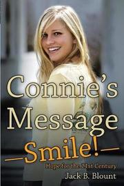 Connie's Message-Smile! by Jack B Blount image
