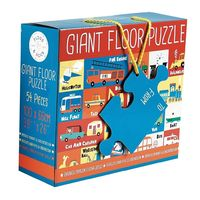 Floss & Rock: 54-Piece Floor Puzzle - Transport