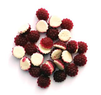 Boysenberries n Cream Lollies 1kg - Rainbow Confectionery image