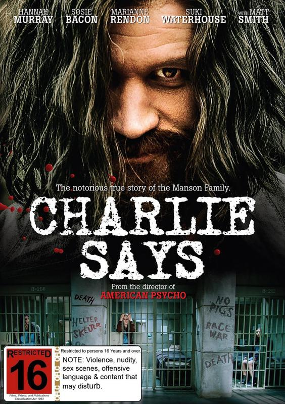 Charlie Says on DVD