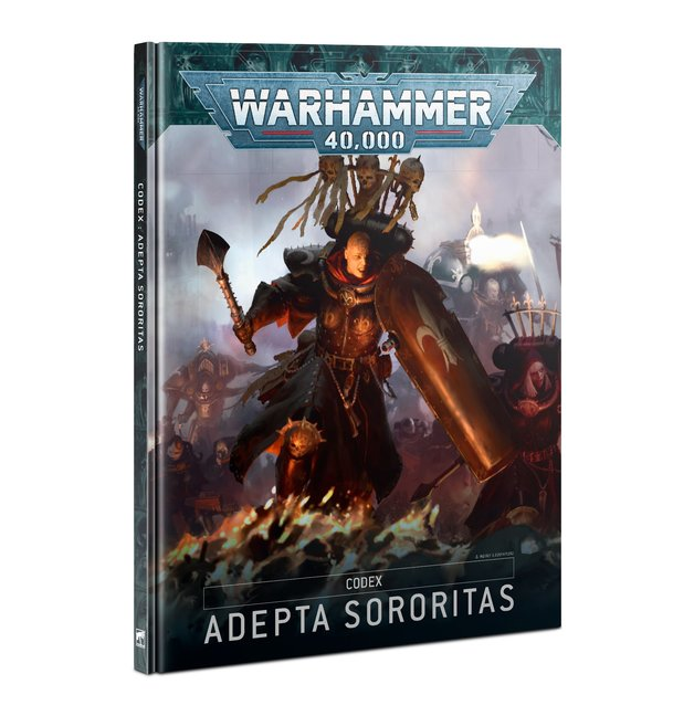 Warhammer 40,000 Codex: Adepta Sororitas (9th Edition)