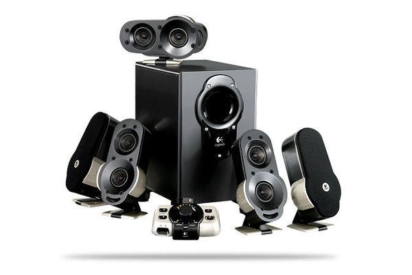 Logitech G51 5.1 Gaming Speaker System