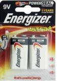 Energizer Ultra Plus 9v (2 pack)