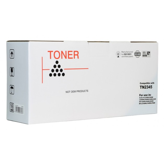 Icon: Compatible Brother TN2345 - Black Toner Cartridge
