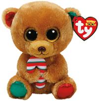 Ty Beanie Boo Bella Bear(Christmas)