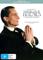 Sherlock Holmes (1984) - Vol. 2: Collector's Edition (3 Disc Box Set) on DVD