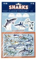 Crocodile Creek: Pop-Out Puzzle & Playset - Sharks
