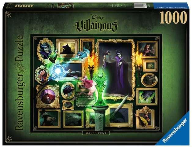 Ravensburger: Disney's Villainous - 1,000 Piece Puzzle - Maleficent