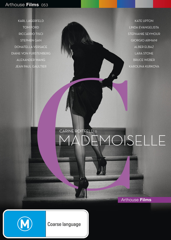 Mademoiselle C on DVD