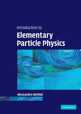 Introduction to Elementary Particle Physics by Alessandro Bettini image
