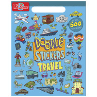 Travel Doodle - Stickers Book