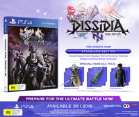 Dissidia Final Fantasy NT for PS4 image