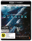 Dunkirk (4K Blu-ray + Blu-ray) on UHD Blu-ray