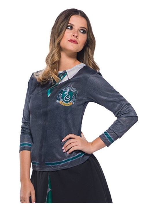 Slytherin Costume Top - Small image