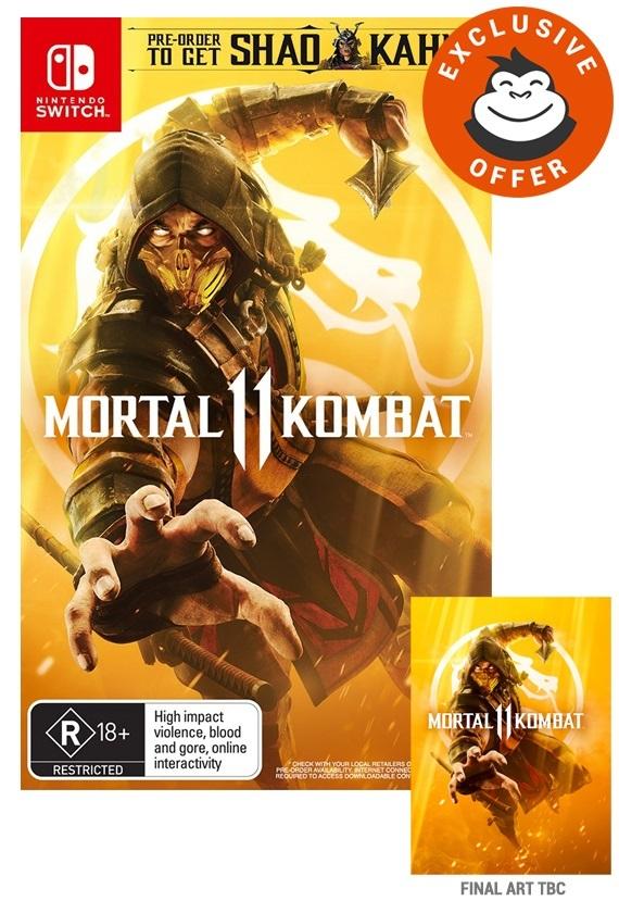 Mortal Kombat 11 for Switch image