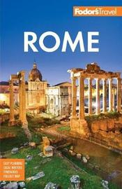 Fodor's Rome by Fodor's Travel Guides