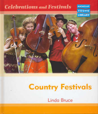 Celebrations and Festivals Country Festivals Macmillan Library by Linda Bruce image