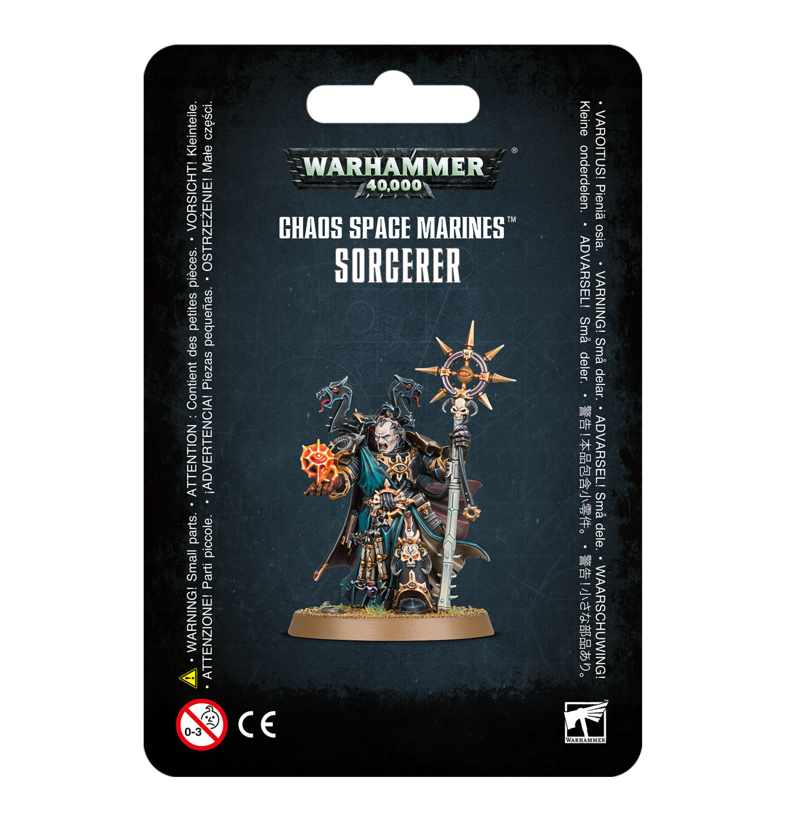 Warhammer 40,000: Chaos Space Marines Sorcerer image