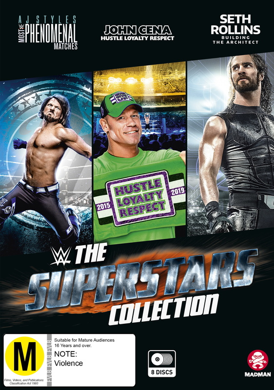 WWE: The Superstars Collection on DVD