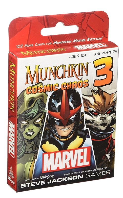 Munchkin: Marvel 3 - Cosmic Chaos Expansion