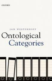 Ontological Categories by Jan Westerhoff image