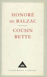 Cousin Bette by Honore de Balzac image