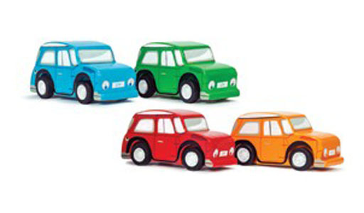Le Toy Van: Whizzy Pull Back Mini Cars - Assorted