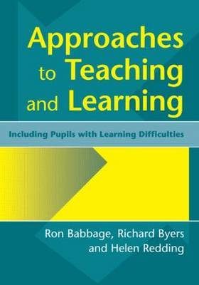Approaches to Teaching and Learning by Ron Babbage image