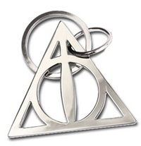 Harry Potter: Deathly Hallows - Metal Keychain
