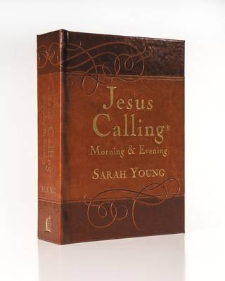 Jesus Calling Morning and Evening Devotional by Sarah Young