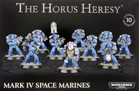 Horus Heresy: Mark IV Space Marines