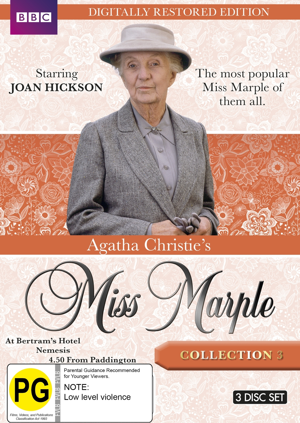 Agatha Christie's Miss Marple - Collection 3 (Restored Edition) on DVD image