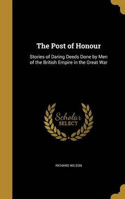 The Post of Honour by Richard Wilson image