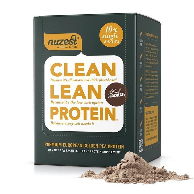 Nuzest Clean Lean Protein - Rich Chocolate (10x25g)