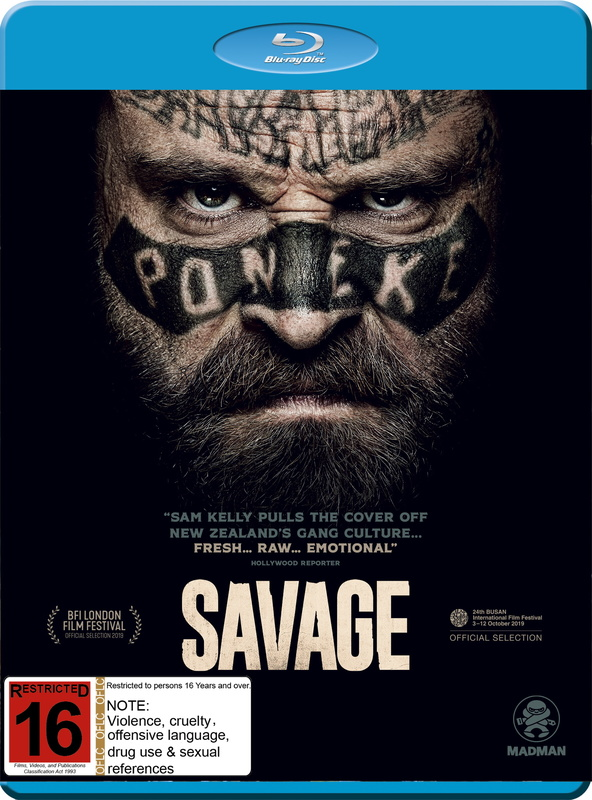 Savage on Blu-ray
