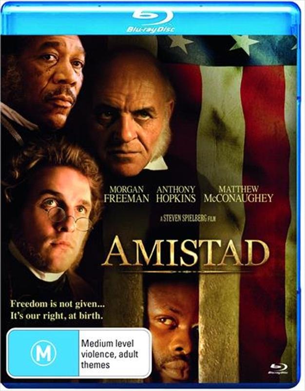 Amistad on Blu-ray